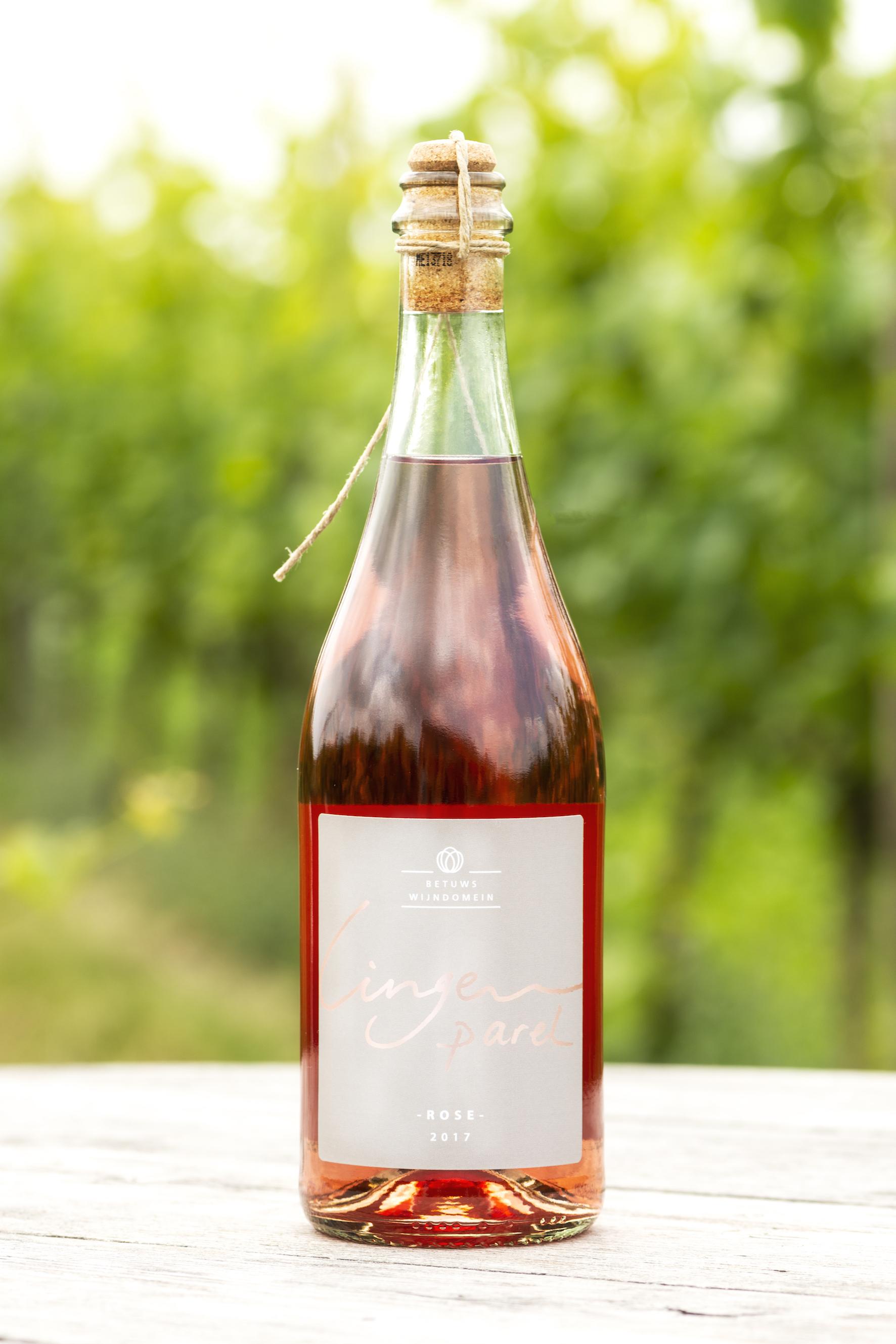 Betuws Wijndomein LingeParel Rosé (Uitverkocht)