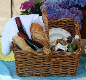 Klompenpad wandeling en picknicken in de wijngaard